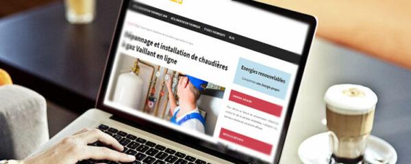 installation de chaudieres a gaz Vaillant en ligne