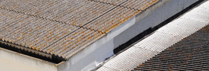 isolation d'un toit en fibro-ciment