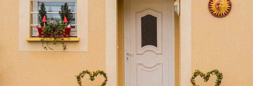 porte d entrée vitrée pvc