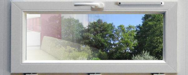 Une fenêtre de pvc